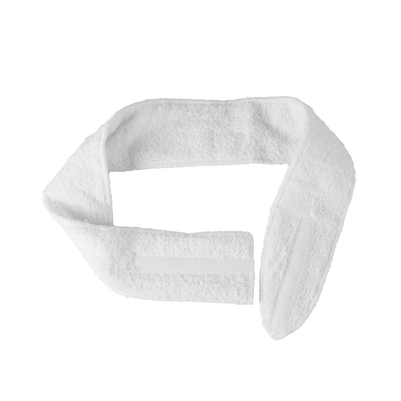 Canyon Rose Terry Spa Close Headband, White, (Pack of 6) 650