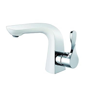 Lux-aqua Bad Armatur Badezimmmer Wasserhahn Mischbatterie Einhandmischer