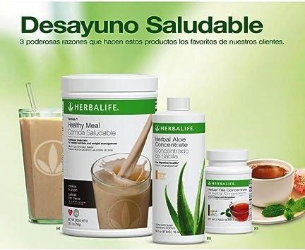 HERBALIFE Paquete Pérdida de Peso MEDIO (Chocolate): Amazon ...