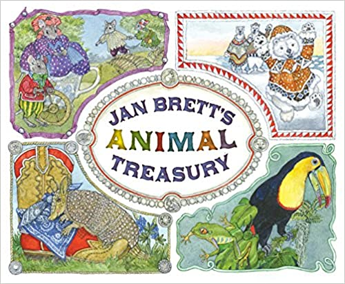 Jan Brett's Animal Treasury, 80¢