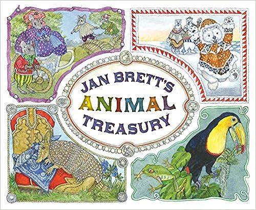 Jan Brett's Animal Treasury, 80¢