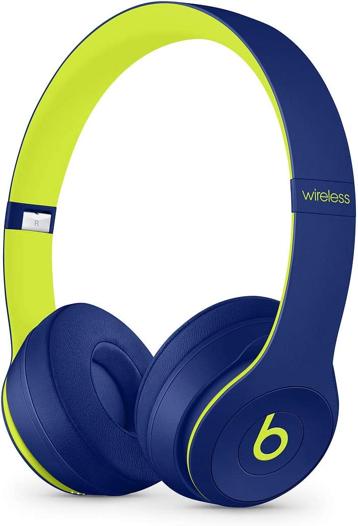 Beats by Dr. Dre - Beats Solo3 Wireless On-Ear Headphones - Beats Pop Collection- POP Indigo(Renewed)