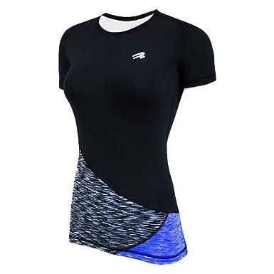 ROUGH RADICAL Damen Funktionsshirt T-Shirt Laufshirt REACTION (S,  schwarz grau  eef79f4a38