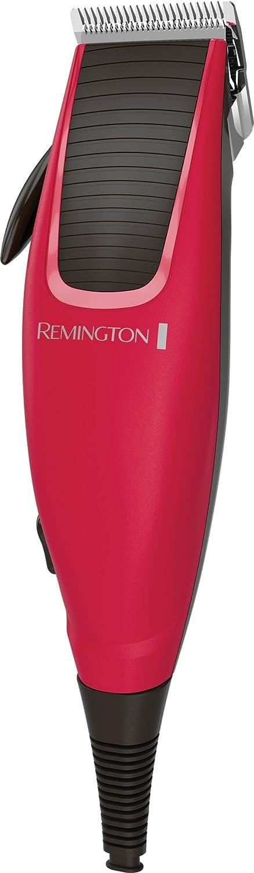 Remington HC5018 Apprentice - Cortapelos, cinco peines guía 3-18 mm, cuchillas de acero inoxidable, 10 accesorios autocortador de cabello cortadora de cabello hombre cortapelo para cabello hair clip