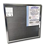 Air-Care 20x30x1 Silver Electrostatic Washable Permanent A/C Furnace Air Filter 94%