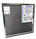 Air-Care 16x25x1 Silver Electrostatic Washable Per...