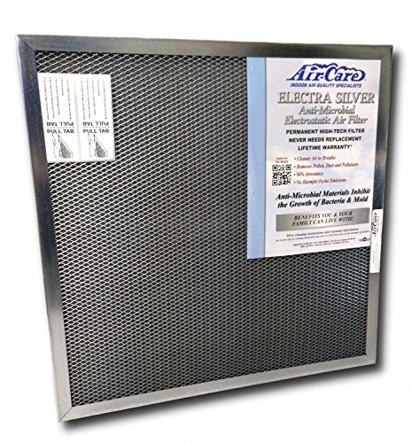 Air-Care 16x25x1 Silver Electrostatic Washable A/C Furnace Air Filter - Limited, Never Buy Another Filter!! - Made In the USA by AirCare (Image #6)