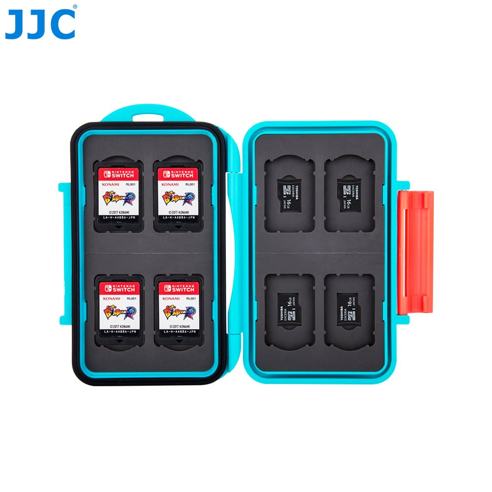 Amazon.com: JJC Blue Memory Card Case for Nintendo Switch ...