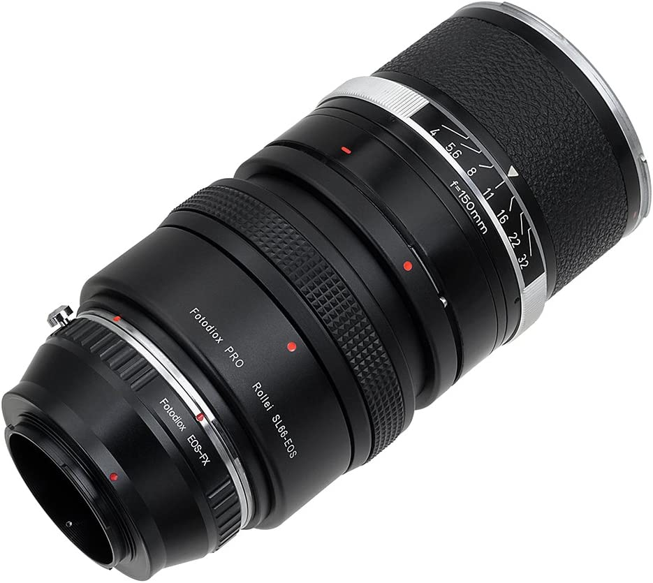 Contarex Lens CRX-Mount Lens to Fujifilm X-Series with Declicked Aperture Control Dial; fits X-Mount Camera Bodies Such as X-Pro1 X-E1 Fotodiox Pro Lens Mount Adapter X-A1 X-E2 X-M1 X-T1