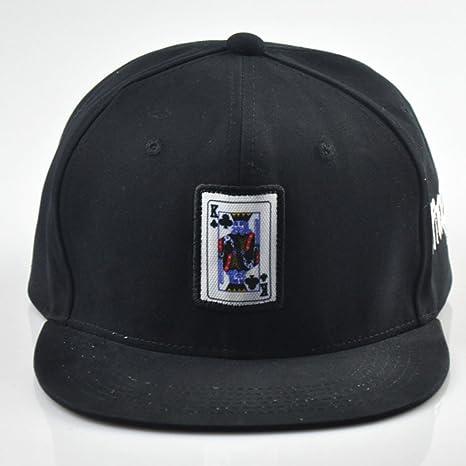 AJOG Hip Hop Gorra De Béisbol Sombrero Snapback Ajustable Sombrero del  Algodón Sombrero del Ocio Gorras 2131c03c7af