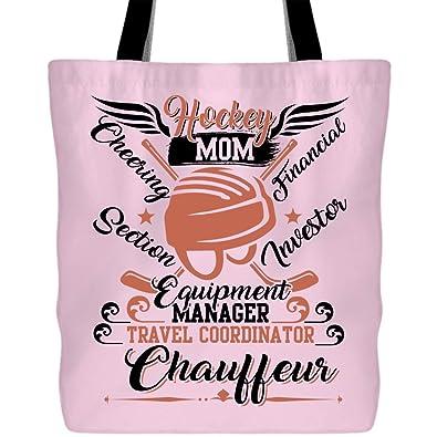 Amazon.com: Ser una bolsa de hockey para mamá con asas ...