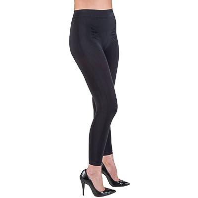 Élégante, élégant, push-up Legging avec avec Emana® Biofir Beneficts (Noir, XS)