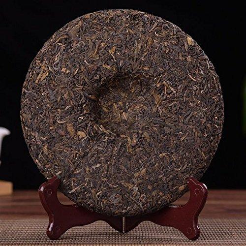 Dian Mai 05 years old mandarin tree Pu'er tea 357 g/cake 13 years Kunming dry barn cake 05年老曼峨古树普洱生茶357克/饼 13年昆明干仓单饼 by Dian Mai 滇迈 (Image #3)