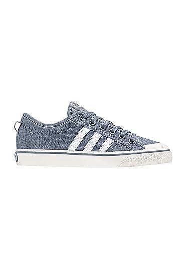 adidas Originals Damen Sneaker Nizza W CQ2537 Grau  Amazon.de ... 9251fbe326