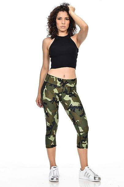 cf6474115b684 Amazon.com: Diamante Women's Power Flex Yoga Pant Legging Sportswear · Style  C160: Clothing