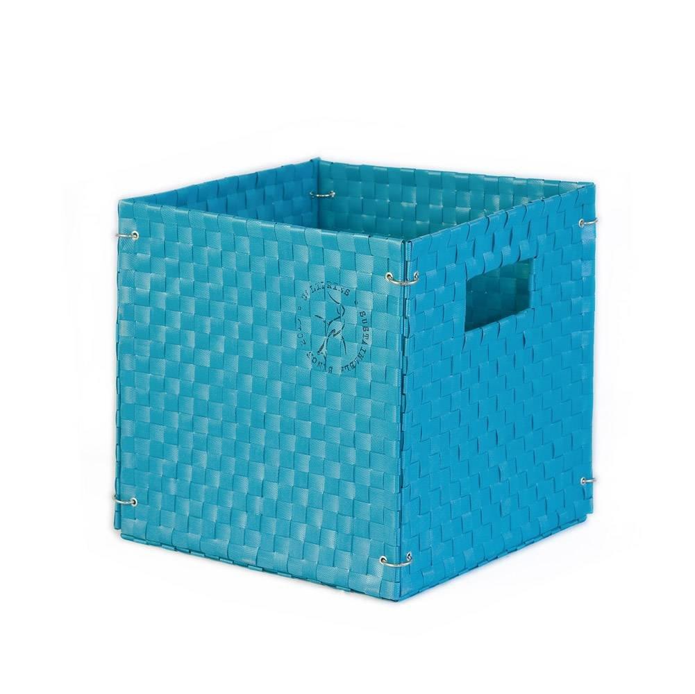 Colibries, Cesto portaoggetti pieghevole 'Kamelie', Blu (Blau) Cesto portaoggetti pieghevole 'Kamelie' CLBPS-FB0204
