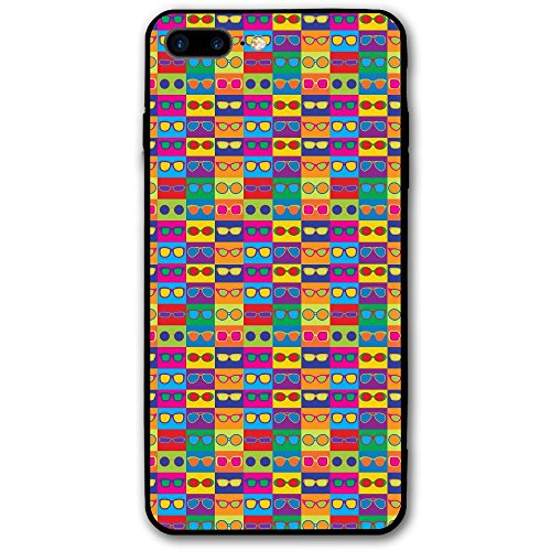 Colorful Sunglasses Iphone8 Plus Case Mobile Phone Protection Shell Unique Design Anti-skid Function Slim Fit Iphone8 Plus 5.5 Inch - Sunglasses Case Online India