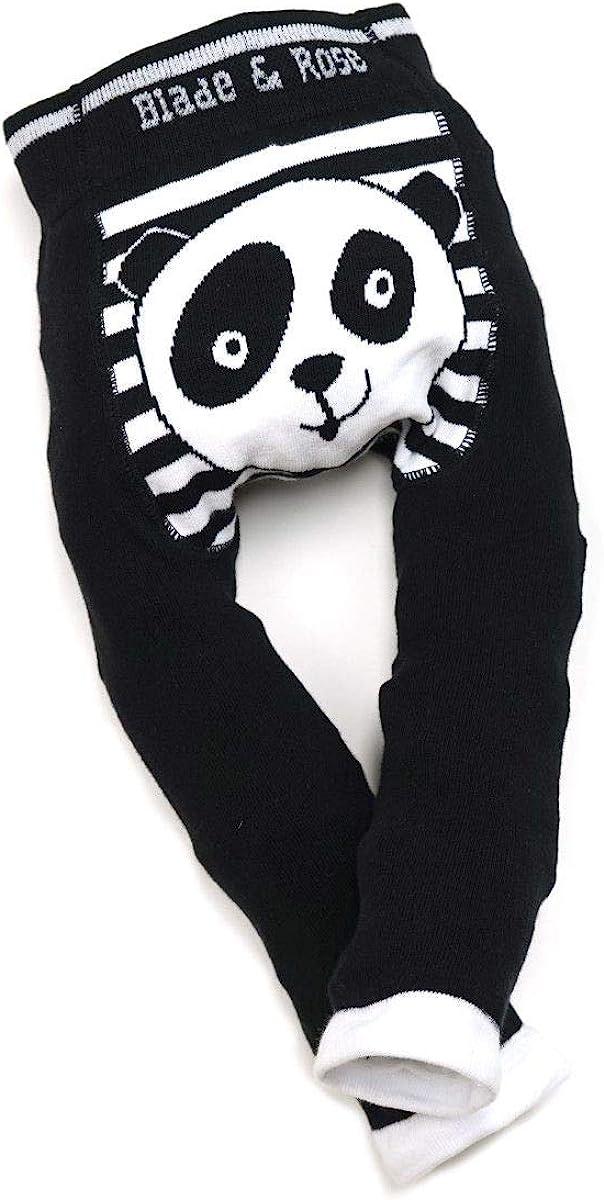 Blade /& Rose Leggings Strickleggings Panda