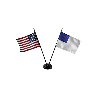 """AFRICAN-AMERICAN 4X6/"""" TABLE TOP FLAG W// BASE NEW DESK TOP HANDHELD STICK FLAG"""