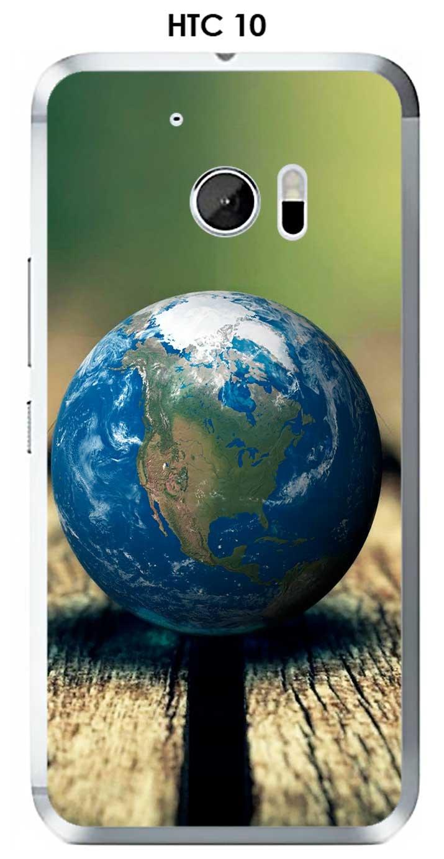 Onozo Carcasa HTC 10 Design Planete tierra redonda: Amazon ...