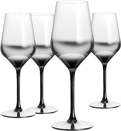 HOMQUEN Verre à vin Rouge 13 onces, 9