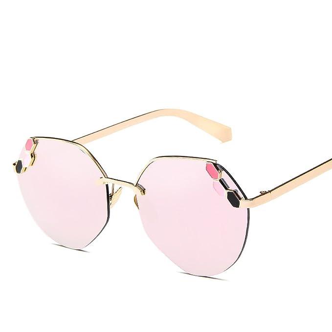 Amazon.com: 2018 nuevo sol de moda coreano señoras anteojos ...