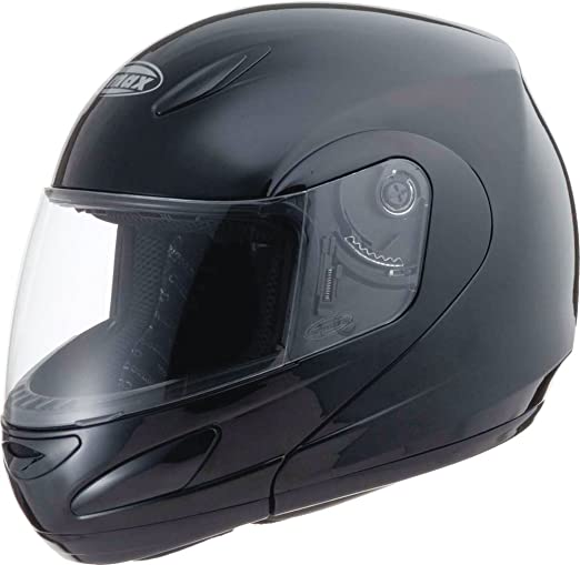 Amazon.com: Gmax GM44 unisex-adult flip-up-helmet-style Motorcycle Street Helmet Derk (Flat Black/Silver,X-Small),1 Pack: Automotive