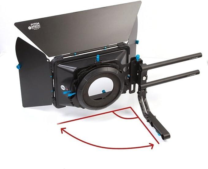 Cámara SLR FOTGA DP3000 jaula D Soporte de forma de C para Sistema de Soporte de carril varilla de 15mm