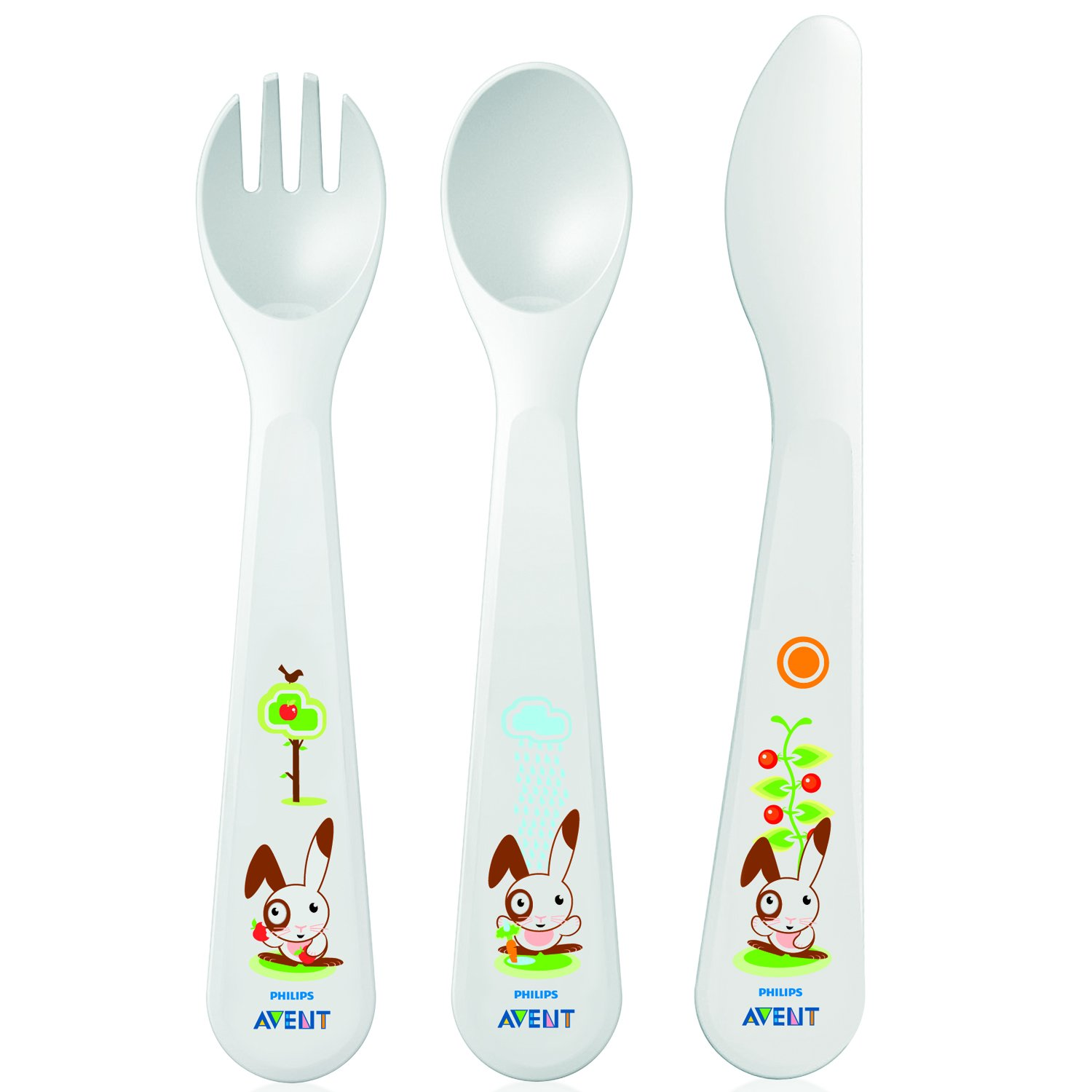 Philips Avent Knife Fork Spoon +18 Months