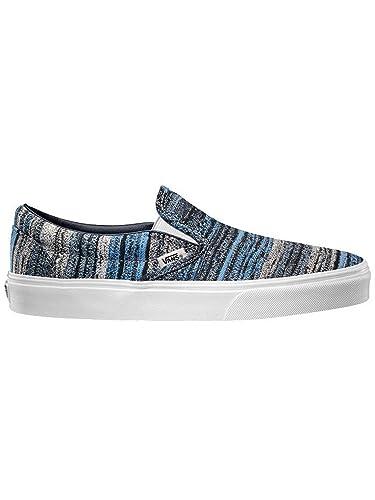 De Classic On Chaussures Vans Slip Homme Skateboard Pour Bleu EHdqnInwA