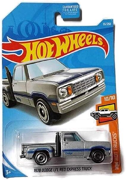 2019 Hot Wheels 55//250 1978 Dodge Li/'L Red Express Truck #10//10 HW Hot Trucks