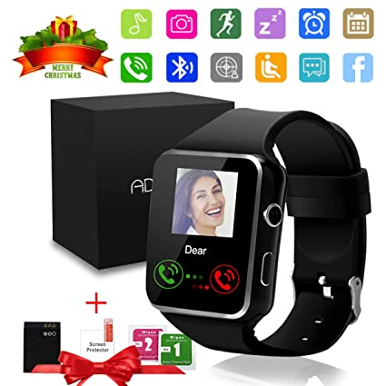 GuaTcy Smart Watch,Bluetooth SmartWatch with Camera Touchscreen,Smart Watches Waterproof Unlocked Phones Watch with SIM Card Slot,SmartWatches ...