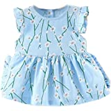 16547bb13ade Amazon.com  GorNorriss Baby Dress Summer Infant Girls Short Sleeve ...