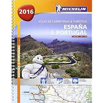 Atlas De Carreteras Y Turístico España & Portugal. A4 (Atlas de carreteras Michelin)