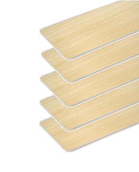 20 hojas de madera Balsa modelo de placa de madera para bricolaje casa barco aviones 100 x 100 x 1 mm