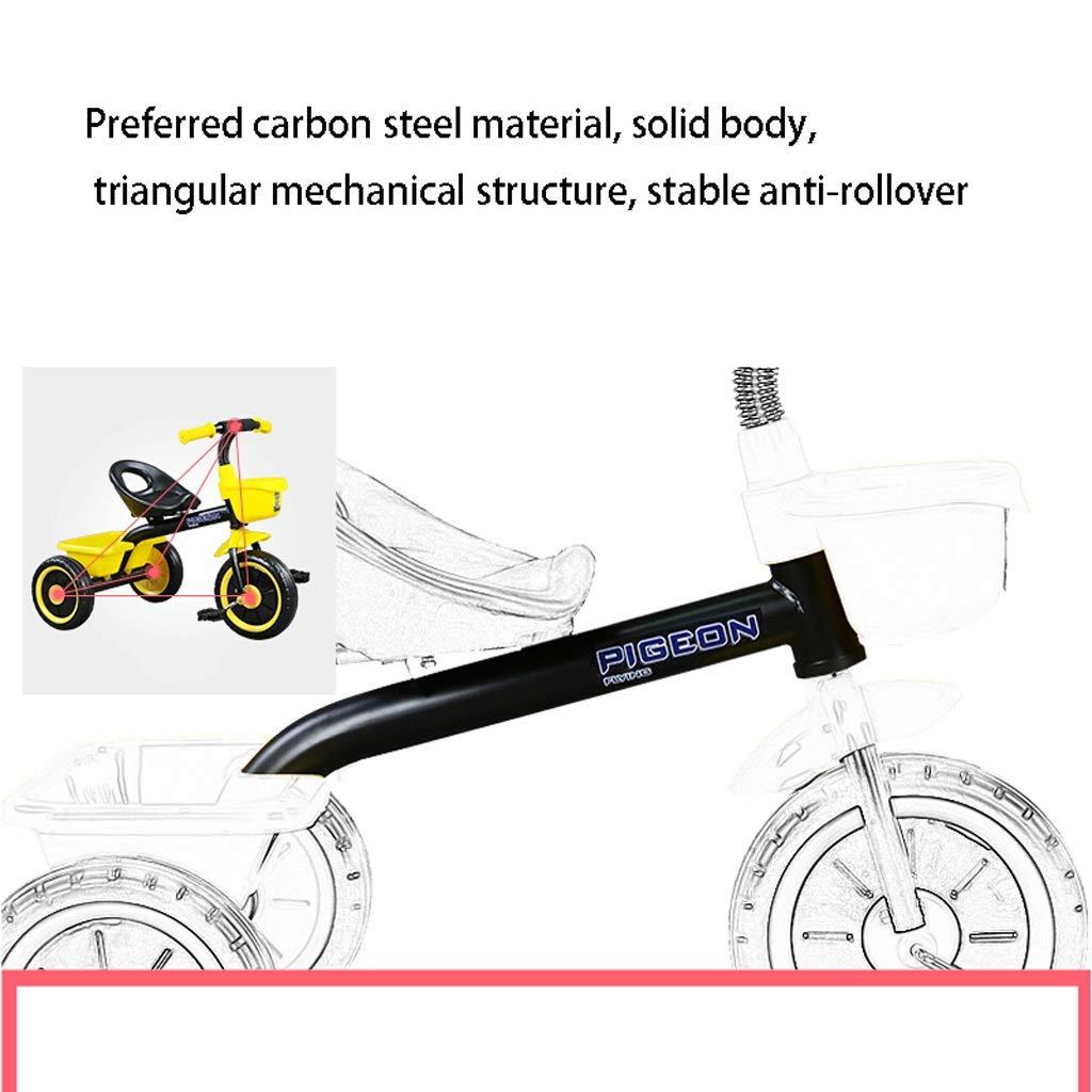 9553cdbdd ... Bicicleta Minmin-chezi Triciclo para para para niños 2-5 años de Edad,  ...