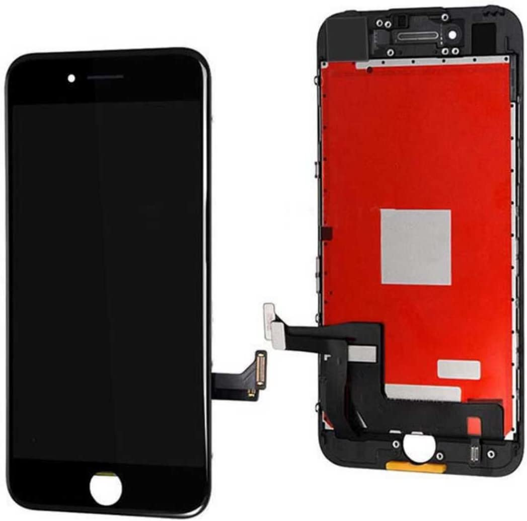 Passion Black iPhone 7 Plus 5.5 inch Screen Replacement Kit LCD Screen Tools Included (7 Plus Black)