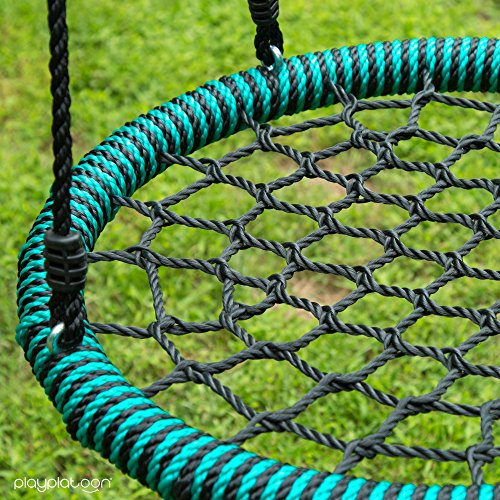 """Play Platoon Spider Web Tree Swing - Choose between 40"""", 24"""" or with Open Center Tire Swing Style"""