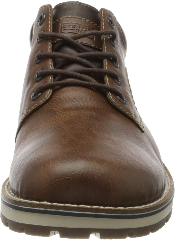 RIEKER Herren 38434 Klassische Stiefel, braun (Toffee