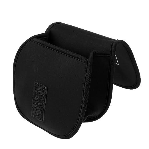 An Ruten Verstellbar Schutz Tasche Beutel S Angelrolle Tasche Schwarz