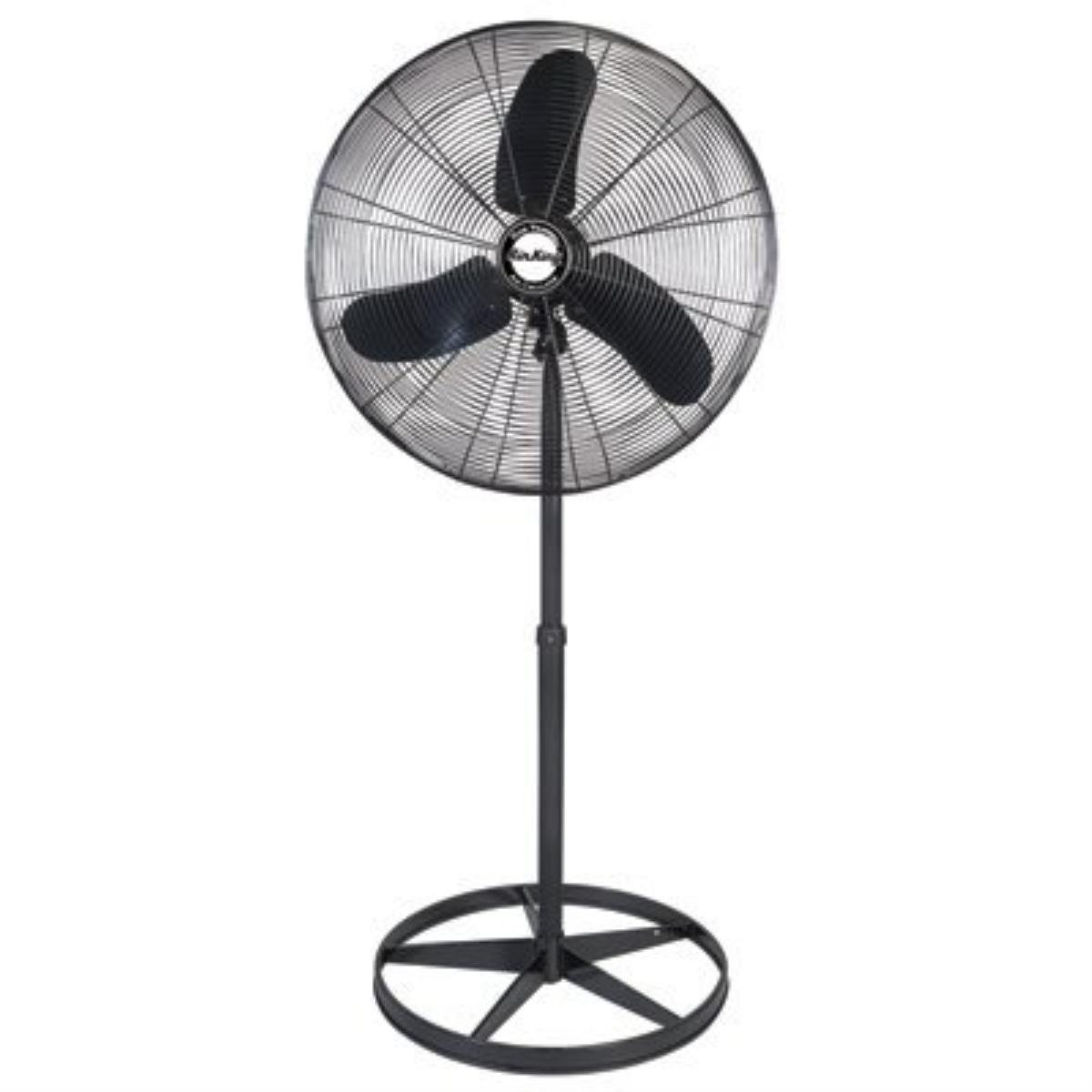 fan oscillating fine chrome inch pedestal elements