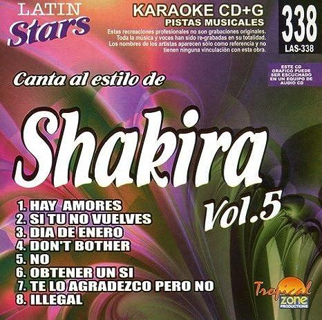 Shakira Karaoke Shakira Vol 5 Latin Stars Karaoke Amazon Com Music
