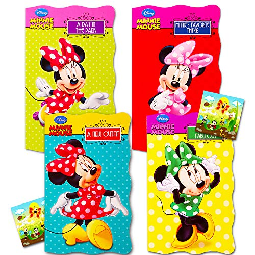 Set of 4 Minnie Mouse Board Books