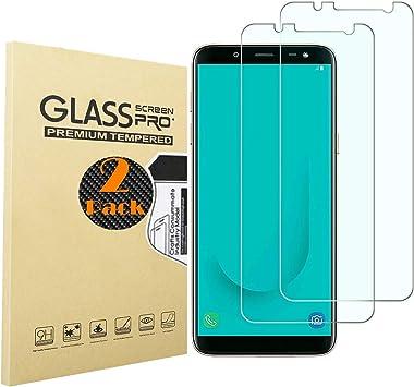 RUIST Cristal para Samsung Galaxy J6,[2 Piezas] 3D Touch Premium ...