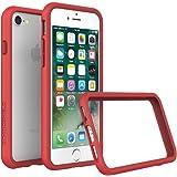 Custodia Protettiva per iPhone 8/iPhone 7 [CrashGuard di RhinoShield] | Custodia Protettiva Antiurto con Design Sottile [Protezione Contro le Cadute da 3,5 M] - Rosso