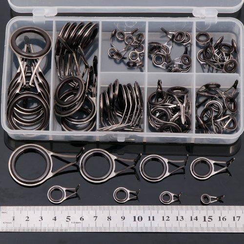 Value Sport 75 X Fishing Rod Guides DIY Parts Rod Building Repair 8 Sizes