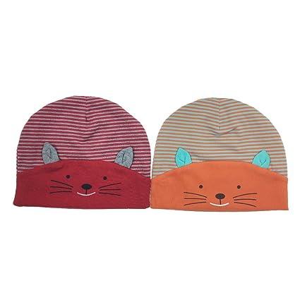 Cappello Bambino Unisex 2 Pezzi Neonato 3d Animali Berretto di Cotone -  Tyidalin Cappello Ragazzo Ragazza 77a735fd1ee6