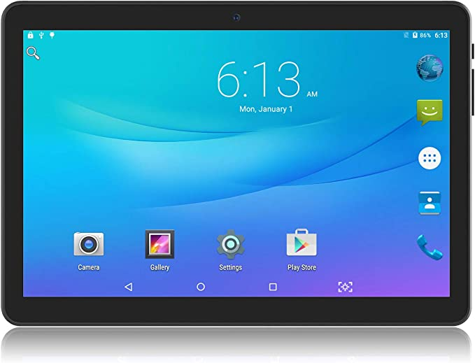 Tablet 10 inch Android Go 8.1 Tablet PC, 3G Phablet with Dual Sim Card Slots,Dual Camera,Google Certified, 1GB RAM, 16GB Storage, 1280X800 IPS ...