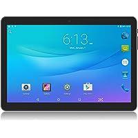 Tablet Android 10 Pulgadas Desbloqueado 3G teléfono computadora Tablet con Dual SIM Tarjeta Ranuras cámara Celular Soporte 2 3 WiFi Bluetooth 1+16GB Quad-Core Pantalla táctil IPS 1280 x 800