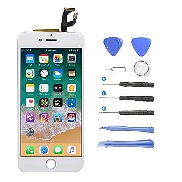 38ff4ae38d613b Yokimico Écran Tactile pour iPhone 6s LCD Display Écran de Remplacement  Écran LCD Retina Tout Assemblé
